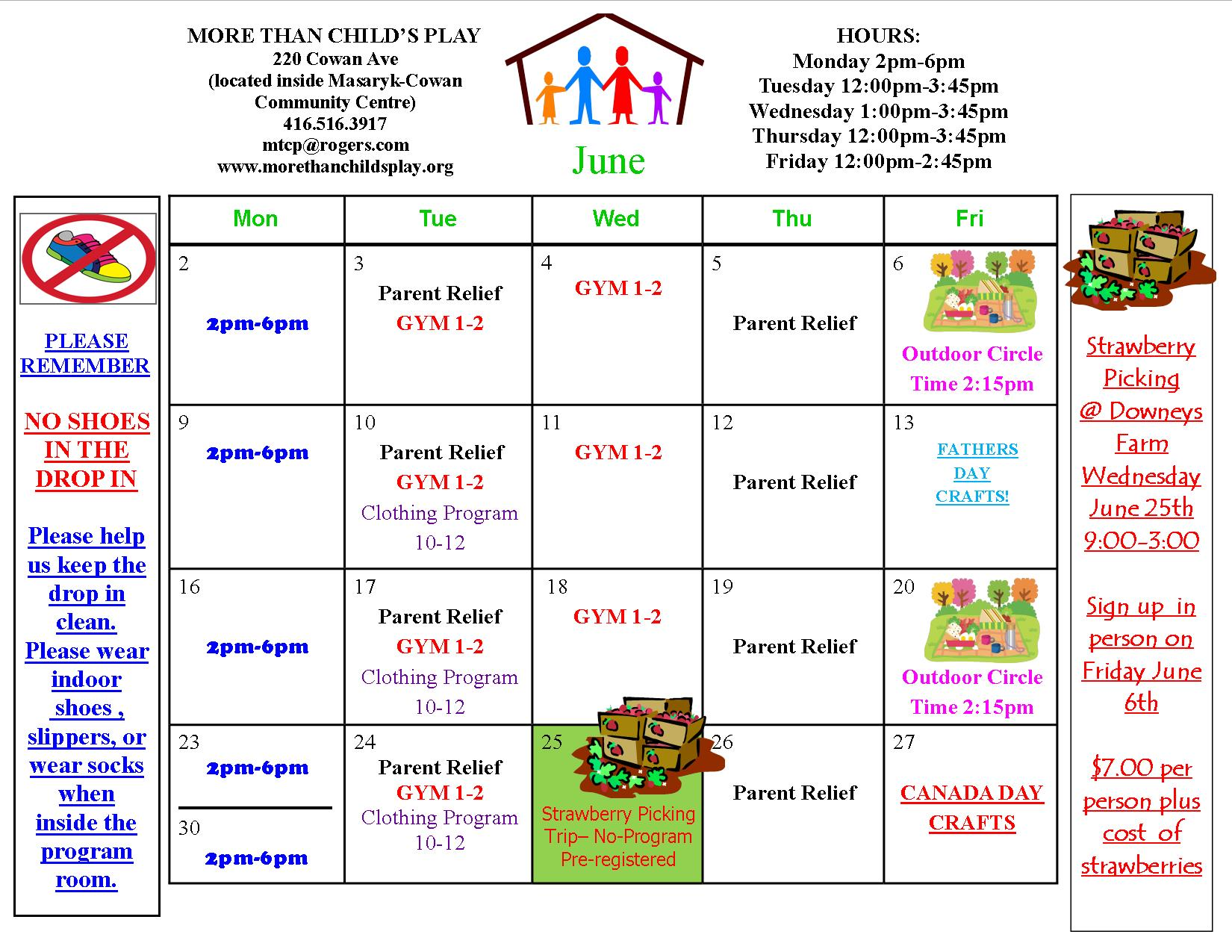 Calendar Monthly Activities : Monthly activity calendar more than child s play
